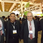 Presidente do Skal- SP, Aristides Cury e amigos